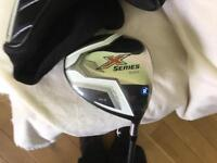 CALLAWAY (X SERIES 10.5 degree Driver regular flex Gents right hand fixed head)