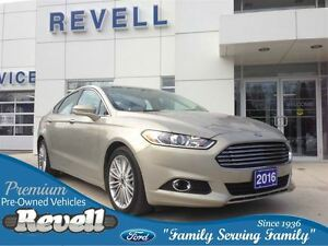 2016 Ford Fusion SE AWD *Luxury Package, Navigation, Heated Leat