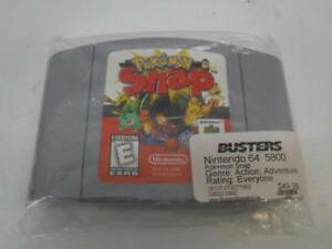 Pokemon Snap for Nintendo 64 - We Buy and Sell Vintage Video Games - 5800 - OR1012405