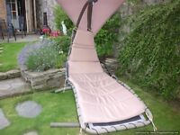 garden helicopter lounge chair