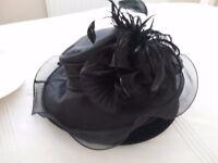Crushable wedding hat