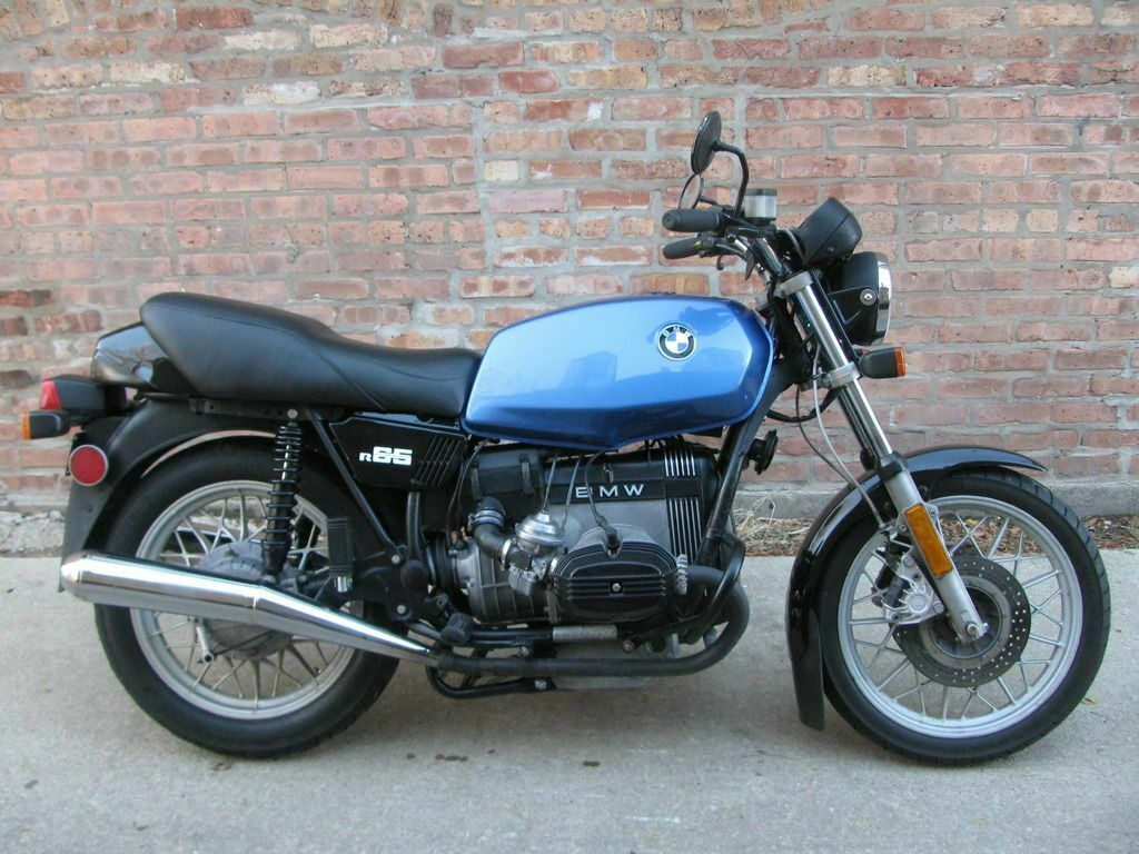 1981 BMW R65, matching numbers, nice shape, runs & rides great, 33,835 miles.