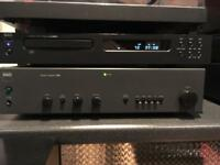 nad Integrated Amp and cd Player