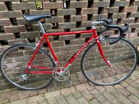 Vintage Italian chesini road bike
