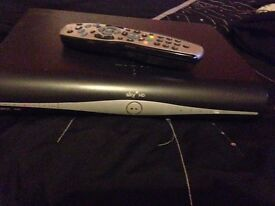 Sky+HD box plus remote and power cable URGENT SALE!!