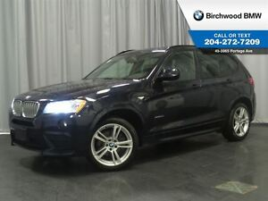 2014 BMW X3 xDrive35i Navigation M-Sport Package!