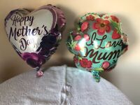 """Mother's Day balloon 18"""" foil delivered free hull area"""