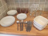 ASSORTED Dinnerware/Crockery/Glasses