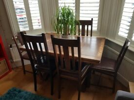 6 Seat Extending Dining Table from 1928, very good condition
