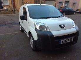 Peugeot Bipper, Citroen Nemo, Fiat Fiorino 1.3 diesel, FULL MOT, ultra clean
