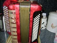 hohner chromatic accordion c system 80 bass