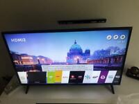 LG 49 inches slim 4k Ultra HD