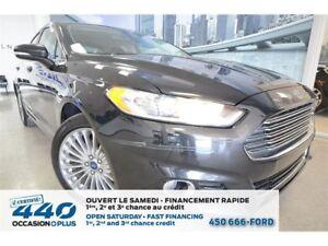2015 Ford Fusion Titanium | 2.0L, CUIR, TOIT, NAVIGATION