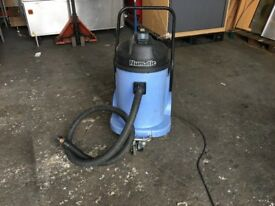 NUMATIC WVD900-2 INDUSTRIAL/COMMERCIAL SITE WET & DRY VACUUM CLEANER 110 volt