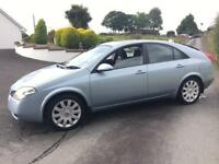 NISSAN PRIMERA DCI SE ***ONLY 72000 MILES *** MOT APRIL 2018***