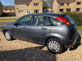 FORD FOCUS GHIA A very good example of this reliable car