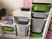 2 ikea kids storage