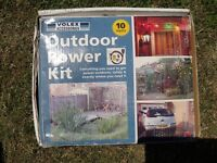 Outdoor Power Kit 10 meters. Brand New and still in box.