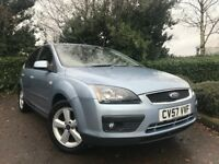2007 (57) Ford Focus 1.8 Zetec Climate 50,000 MILES FULL SERVICE HISTORY 2 OWNER EXCELLENT CONDITION
