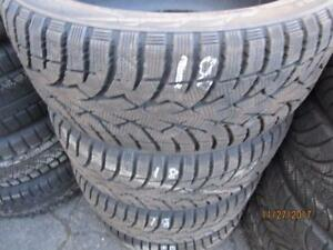 225/45R17 SET OF 4 USED ironman WINTER TIRES