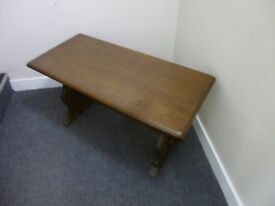 2 VERY NICE OAK OCCASIONAL TABLES - BUY ONE GET ONE FREE