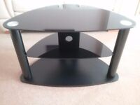 Black TV Stand -80 cm wide