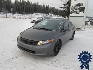 2012 Honda Civic Sedan 5 Passenger, Manual Trans, 106,797 KMs