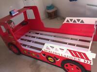 Single Fire Engine Bed