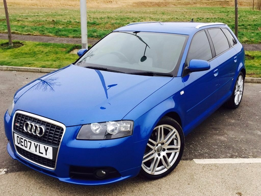 stunning 2007 audi a3 s line sportback 2 0 tdi quattro fsh leather seats s3 looks in. Black Bedroom Furniture Sets. Home Design Ideas