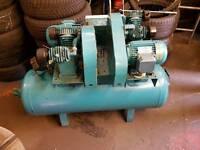 150ltr 3phase tandom compressor