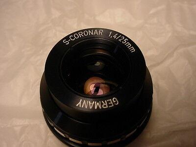 Friederich Munchen 1025 vintage lens f1.4/25mm     -xxv