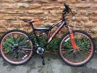 New BOSS Venom Full Suspension Adults Mountain Bike RRP £265