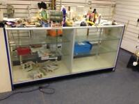 Shop counters x2