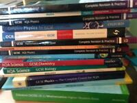 GCSE BOOKS WIDE RANGE