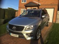 Very Low Mileage Mercedes Benz M Class 3.0 ML350 CDI Blue TEC AMG Line 7G Tronic Plus 4Matic