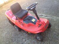 Mountfield petrol ride on lawn mower. Spares or repair.