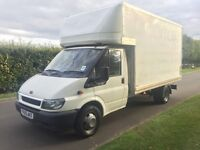 Transit Luton box van long mot low millage drives without fault!!