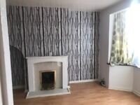 Used Gas Fire with Mantel Piece and Surround