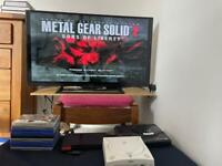 Ps2,Dreamcast,MegaDrive and TV 40 inch Sony