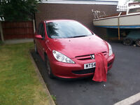 PEUGEOT 307 CHEAP FOR QUICK SALE RELIABLE.....3 MONTHS MOT