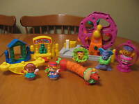 FISHER PRICE LITTLE PEOPLE CIRCUS ADD ONS.  AMUSMENT PARK RIDE