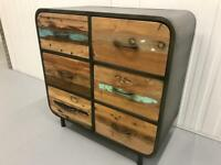 6 Drawer Dresser - Indonesian reclaimed boat wood