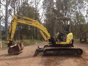 Excavator Yanmar VIO55-5 Gympie Gympie Area Preview