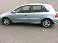 AUTOMATIC HONDA CIVIC EXECUTIVE..1.6L..1YEAR MOT..5DOOR..HATCHBACK..2 OWNERS... LEATHER INTERIOR