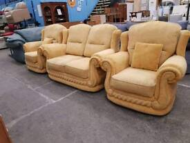2 Seater Sofa and matching armchairs