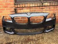 BMW 5 series f10 M sport lci 2013 2014 2015 genuine grey front bumper for sale