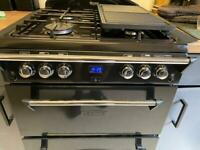 Used - Leisure GRB6GVK Gas Range Cooker Free Standing Black
