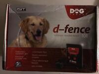 Electronic dog fence system