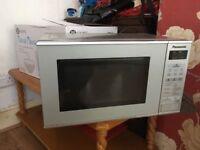 Panasonic microwave used (faulty) working