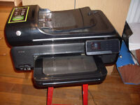 HP OFFICEJET 7500A PRINTER C/W NEW INK REFILLS